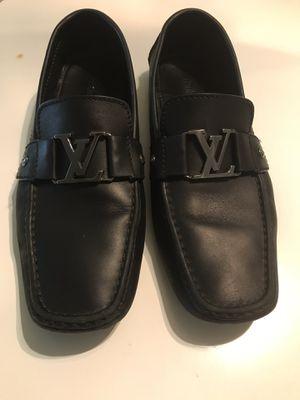 Original Louis Vuitton Men Black Shoe for Sale in Orlando, FL