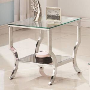 $140 For End Table with Mirror Lower Shelf! Lowest Prices Ever! for Sale in Sacramento, CA