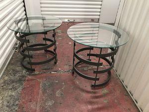Modern industrial side / end tables for Sale in Salt Lake City, UT