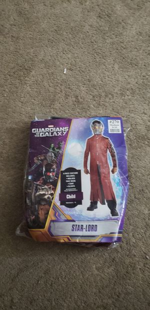 Guardians of the GALAXY COSTUME size 8_10 for Sale in North Las Vegas, NV