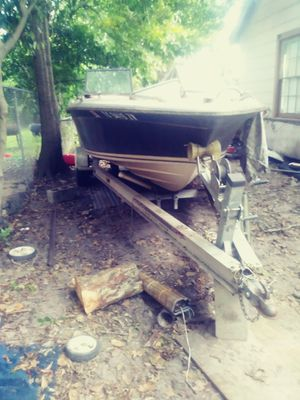 16 to 18 ft aluminum single axle boat trailer for sale for Sale in OLD RVR-WNFRE, TX