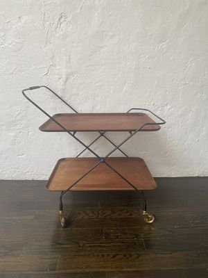 Bar cart - mid century - side table - Swedish for Sale in Brooklyn, NY