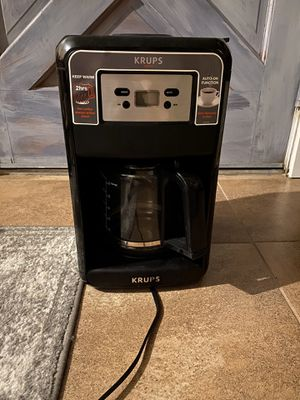 Krupps coffee maker for Sale in Visalia, CA