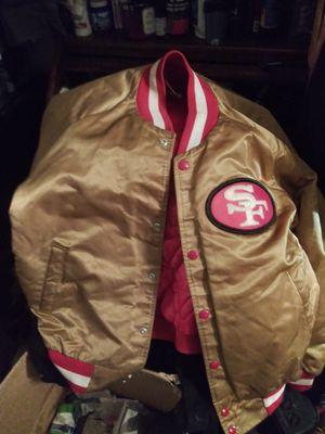 Chalk line vintage 49ers jacket for Sale in Sacramento, CA
