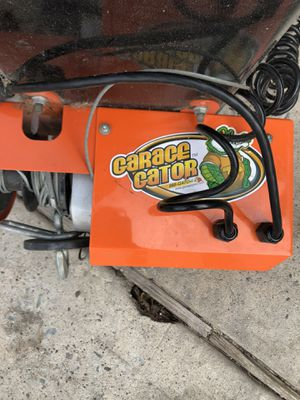 Garage Gator electric bicycle storage lift for Sale in Houston, TX