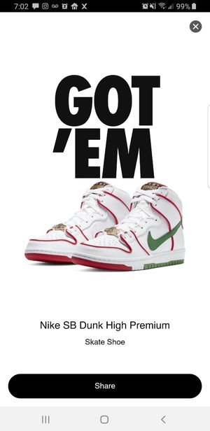 """Nike SB Dunk High """"Paul Rodriguez Mexico"""" for Sale in Lathrop, CA"""