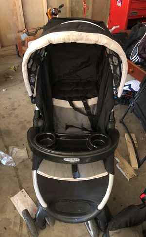 Graco baby stroller and car Seat with base for Sale in Pueblo, CO