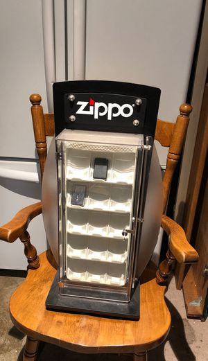 Zippo 30 Slot Lighter Display Case for Sale in Vancouver, WA