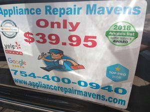 Dryer washer refrigerator oven for Sale in Fort Lauderdale, FL