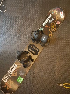 Kemper Snowboard 153' for Sale in Charlotte, NC