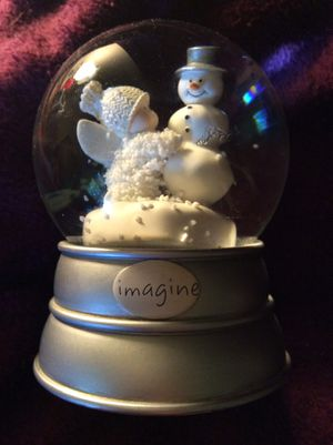 Retired snowbabies snow globe Imagine 2009 for Sale in Columbia, PA