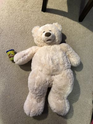Large plush teddy bear for Sale in Rockville, MD