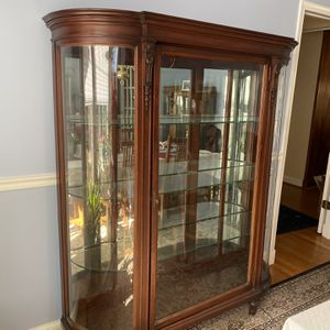 Antique China Cabinet for Sale in Chevy Chase, MD