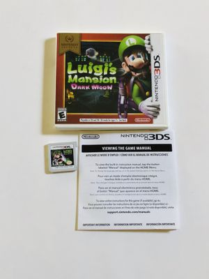 Luigi's mansion dark moon Nintendo 3ds for Sale in Long Beach, CA