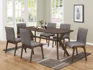 MCBRIDE COLLECTION DINING SET (Table +6 chairs for Sale in Miami, FL