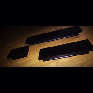 3 Black Wall Shelves for Sale in Dunwoody, GA