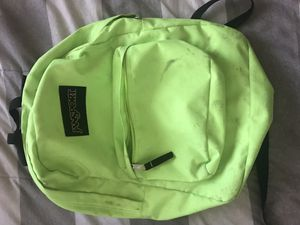 Jansport yellow backpack for Sale in Palmdale, CA