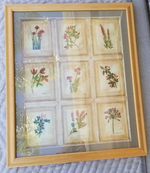 Framed floral print for Sale in Lake Forest, CA