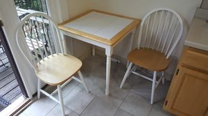 Kitchen table with two chairs for Sale in Cambridge, MA
