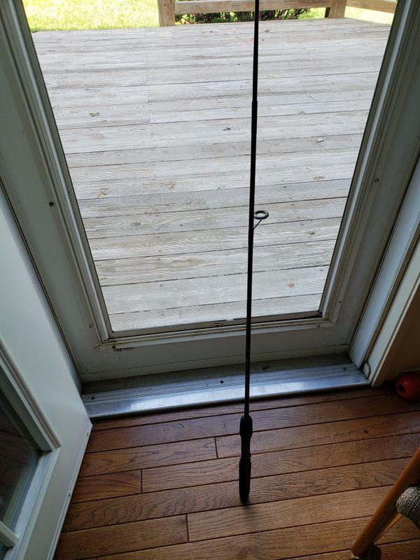 Shimano fishing rod.