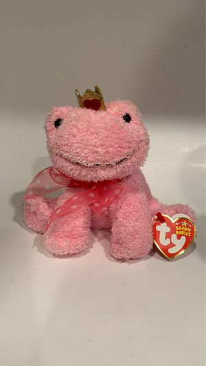 Ty beanie baby kissable the pink frog for Sale in Covington, LA