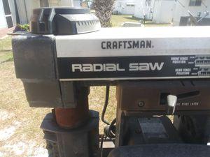 "Craftsman Radial Saw ""10 for Sale in Hudson, FL"