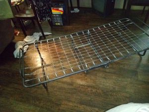 Made of Steel & Sturdy RollAway Portable Guest-Bed w/ springs for Sale in Bellmead, TX