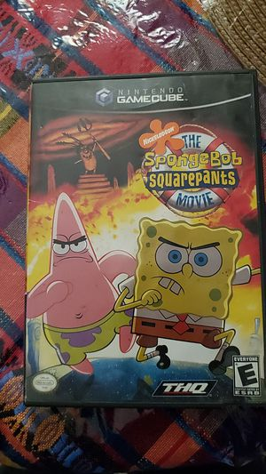 The SpongeBob Squarepants Movie (complete with manuel) gamecube for Sale in Sioux Falls, SD