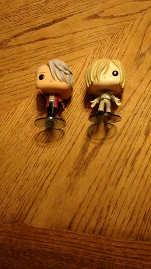 Yuri!!! on Ice pop finals (Viktor and Yurio) for Sale in Birmingham, AL