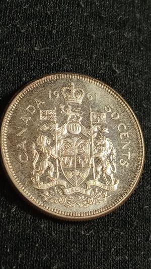 Choice BU silver 1961 half Canadian dollar for Sale in Denver, CO