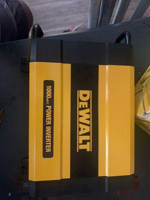 1000W DEWALT power Inverter for Sale in Hemet, CA