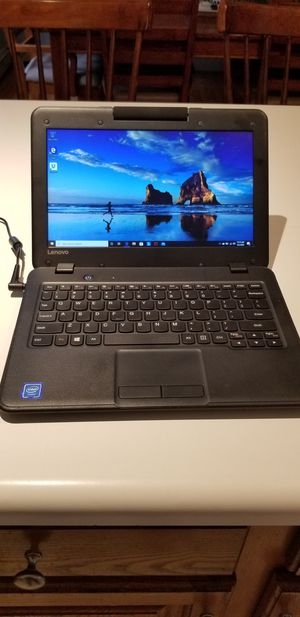 "Lenovo 100e 11.6"" Education Laptop - Perfect for Remote Learning! for Sale in Taunton, MA"