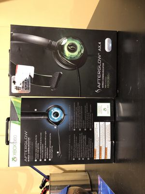 PDP afterglow Xbox 360 headset compatible with Xbox one for Sale in Flushing, MI