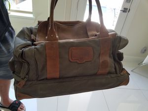 Bob Timberlake leather duffle bag for Sale in Frisco, TX