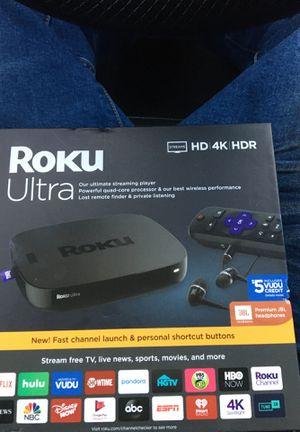 Roku ultra for Sale in Georgetown, TX