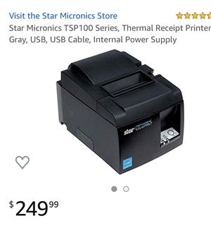 Star TSP 100 future PRINT Thermal Receipt Printer for Sale in Spring Valley, CA
