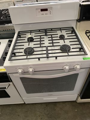 Whirlpool gas stove! 90 day warranty for Sale in Stockton, CA