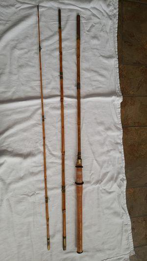 Vtg bamboo fly fishing rod for Sale in Philadelphia, PA