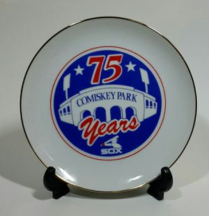 White Sox Comisky Park Collectors Plate for Sale in Hammond, IN
