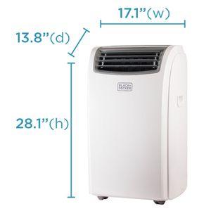 portable Black & Decker air conditioner 14000 BTU for Sale in Woodstock, MD