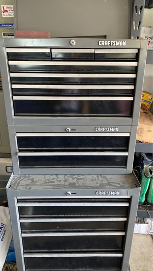 Craftsman three tier toolbox for Sale in Springfield, OR