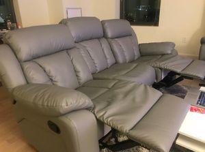 Sofa + chair (all recliners) for Sale in Boston, MA