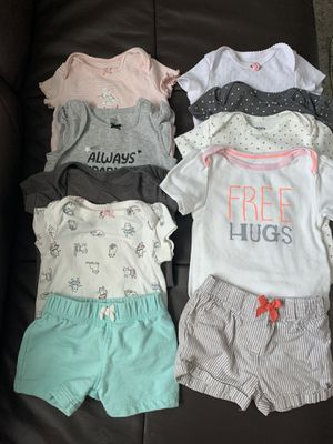 Baby girl clothes 6-9 months for Sale in Scottsdale, AZ