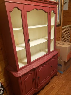 Wood China cabinet for Sale in Las Vegas, NV