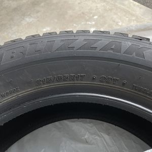 "17"" Blizzak Set for Sale in Everett, WA"