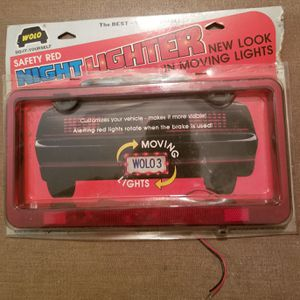 Wolo license plate night light lighter LF3 for Sale in Three Rivers, MI
