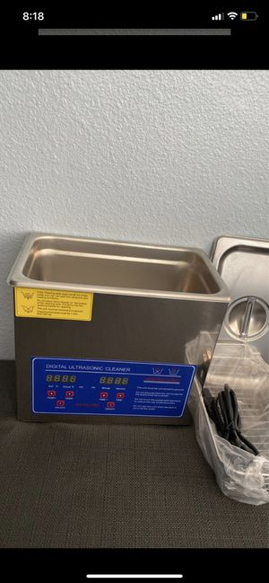 Ultrasonic cleaner for Sale in San Bernardino, CA