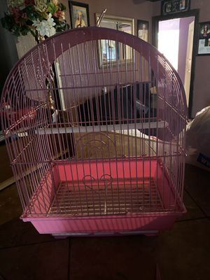 Small Pink bird cage for Sale in Chino, CA