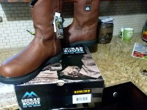 Steel Toe work boots for Sale in Fort Worth, TX