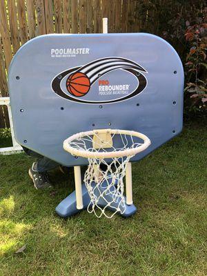 Pool master poolside basketball hoop for Sale in Battle Ground, WA